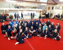 Secondary Schools Artistic, Trampoline & Tumbling Competition.